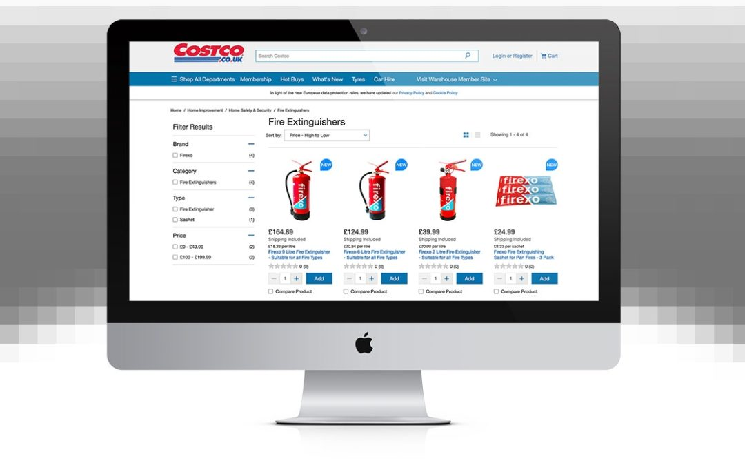 Firexo secures retail giant Costco in first major customer win